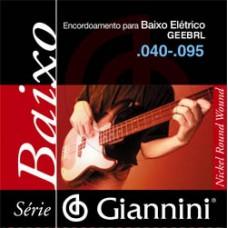 ENC BAIXO 04 CORDAS GIANNINI 040-095 GEEBRL