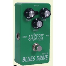 PEDAL GIANNINI BLUES DRIVE CHAVE TRUE BYPASS DB108