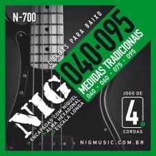 ENC BAIXO 04 CORDAS NIG 040-095 N-700