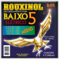 ENC BAIXO 05 CORDAS ROUXINOL 043-106 R95
