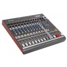 MESA DE SOM LLAUDIO 12 USB,BT,SD,FM, PHANTON, EFEITO - MX1202D