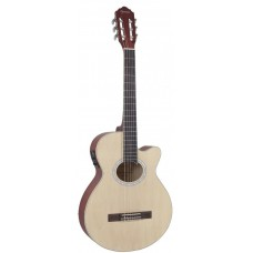 VIOLAO GIANNINI ELETROACUSTICO NYLON NATURAL SATIN (NS)